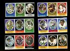 1972 SUNOCO STAMPS FOOTBALL LOT OF 285 MINT *208459