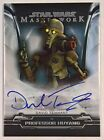 2020 Topps Star Wars Masterwork Trading Cards - Pedro Pascal Autographs 32