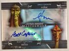 2020 Topps Star Wars Masterwork Trading Cards - Pedro Pascal Autographs 35