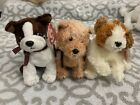 TY Beanie Babies: SCAMPY, SAMPSON & SPORT the dogs! MWMT!