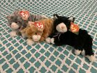 TY Beanie Babies: ARIA, BOOTIES & GYPSY the CATS!! MWMT!