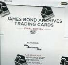 JAMES BOND 007 ARCHIVES FINAL EDITION SEALED TRADING CARD BOX