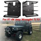 For 87-06 Jeep Wrangler YJ TJ Stylish Aluminum Rear Tail Light Guard Covers 2PC