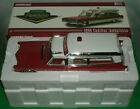 1 18 Scale 1966 Cadillac Ambulance Diecast Model Greenlight PC18003 White Red