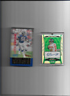ELI MANNING BOEMAN STERLING AUTO CARD 3 10 ( GREEN RARE ) LAWRENCE TAYLOR AUTO