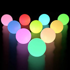 10x LED Glow Ball Light Pool Floating Waterproof Outdoor Garden Christmas Decor