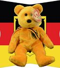Ty Retired Beanie Baby ~ Prinz Von Gold German Exclusive ~ VGC with Tags ©2001