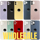 5 Lot Bulk Rear Back Glass Replacement Housing For iPhone 11 Pro Max Big Hole US