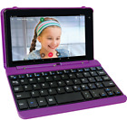 2 in 1 Laptop Tablet PC 7 Android Touchscreen w Keyboard Case 16G RCA Purple