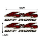 2x 4x4 Off Road Racing Decal Sticker For Chevy Ford Gmc Truck Suv Car Door Side
