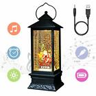 Line in Snow Globe Lantern with Music and Timer for Christmas xmas Decorative