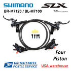 SHIMANO SLX BR M7120 BL M7100 Bike 4 Piston MTB Hydraulic Disc Brake Set OE