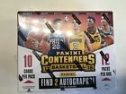 2017-18 Panini Contenders Basketball Factory Hobby Box 12 Pack 2 Autos