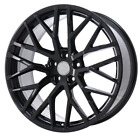 19x85 5X112 +35 GLOSS BLACK R8 STYLE WHEEL FITS AUDI S5 S6 RS4 RS5 TTS A4 A5 A6