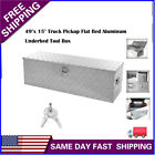 49 Heavy Duty Aluminum Tool Box Truck Pick Up Underbody Truck Trailer Storage S