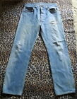 70s 80s Vintage LEVIS 501 Hige Fade Jeans Pants 32 x 31 Made In USA 501xx