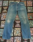 70s 80s Vintage LEVIS 501xx Hige Fade Denim Jeans 34 x 30 Made In USA 501