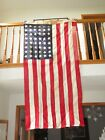 48 STAR GOVERNMENT TYPE A BULLDOG BUNTING 36 x 6 FLAG AMERICAN 1950S