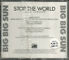 BIG BIG SUN stop the world 2TRX w/ RARE EDIT PROMO DJ CD single SEALED 1989 USA
