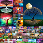 5D Diamond Painting Scenic Plant Flower House Landscape DIY Wall Decor Craft New
