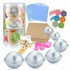 Caydo 176 Pieces DIY Bath Bomb Molds Set with Instructions Including 12 Pieces