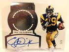2017 flawless Eric Dickerson retired numbers auto 2 5 Rams