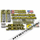 New Stickers Cannondale Jekyll mountain bike decals frame custom