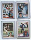 1983 Topps Baseball Cards Complete Your Set You Pick Lots of 25 MINT CONDITION