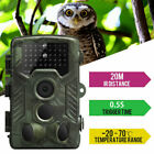 20MP Hunting Trail Camera Video Wildlife Scouting Infrared Night Vision 1080P HD