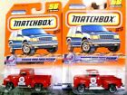 Matchbox 2000 Texaco 1956 Ford Pickup Diecast Car Lot of 2: New In Package!