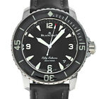Blancpain 5015-1130-52B Fifty Fathoms Automatic Black Dial Box Papers Warranty