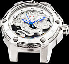 Invicta Mens Speedway Bolt Dragon NH35A Automatic Silver Black Strap Watch 25776