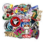100 PCS Vans Vinyl Decals Stickers Lot for Skateboard Truck Laptop Luggage Party