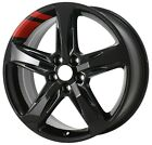 New 19 Black With Red Stripe Replacement Wheel Rim 2018 2019 Chevrolet Equinox