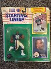 1990 Neal Anderson starting lineup Football figure card toy Chicago Bears