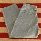 Vtg Womens Riders by Lee High Waist Buckle Back Denim Mom Jeans Sz14 USA