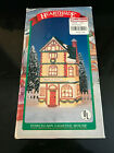 HEARTHSIDE VILLAGE - PORCELAIN LIGHTED HOUSE 1990 -  BOOKS & CHARTS