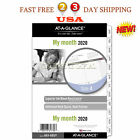 AT A GLANCE 2020 Monthly Planner Refill Day Runner 5 1 2 x 8 1 2 Desk Size 4