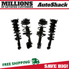Front and Rear Complete Strut  Coil Spring Assembly Set of 4 for Subaru Legacy