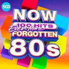 NOW 100 Hits Even More Forgotten 80S Album Oldies Music 5 Audio CD Box Set New