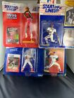 Starting Lineup Figs Boxed Jerry Stackhouse Sandy Alomar Willie McGEE David Cone