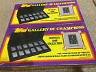 1988 Topps Gallery of Champions Aluminum replicas lot of 2 sets