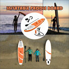 10ft Inflatable SUP Stand Up Paddle Board Paddle Pump  Carry Bag Backpack