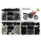 For YAMAHA 2002-2014 TDM900 Complete Cowling Fairing Bolts Kit Body Screws Nuts