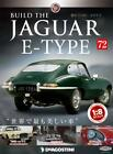 Build THE JAGUAR E-TYPE 1/8 die cast model Vol.72 DeAGOSTINI Weekly JAPAN NEW