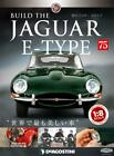 Build THE JAGUAR E-TYPE 1/8 die cast model Vol.75 DeAGOSTINI Weekly JAPAN NEW