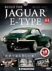Build THE JAGUAR E-TYPE 1/8 die cast model Vol.84 DeAGOSTINI Weekly JAPAN NEW