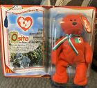 Ty Beanie Baby Osito The Bear Collector's McDonald's 1999 Mint Never Opened