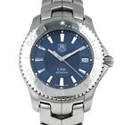 Mens TAG Heuer WJ1112.BA0570 Link Diver 39mm Blue Dial Stainless Steel AS IS