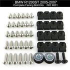 For BMW R1200ST 2005-2007 Motorcycle Complete Fairing Bolt Kit Bolts Screws Nuts